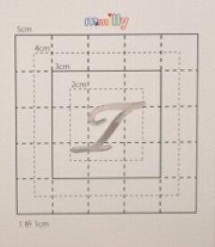 【スワロフスキー27個付イニシャルシール】(スマートホン&オリジナルケース・カバー)大文字SV(小)T
