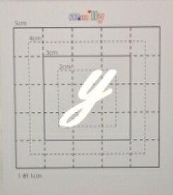 【スワロフスキー20個付アルファベットシール】(iphone4sアイフォンケース&オリジナルプリント)小文字SV(大)y