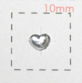 小粒ハートアクリルストーン4mmクリア/0.5g《ネイルアート用品》