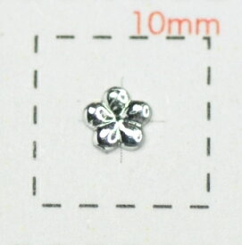小粒フラワーアクリルストーン4mmクリア/0.5g《ネイルアート用品》