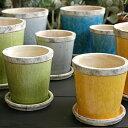 植木鉢 ポット セット【Color Terracotta C2300 懸崖4号鉢用】 初夏に変えたいインテリア 梅雨になる前に