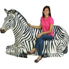 シマウマのベンチ オブジェ/ Zebra Seat (Not in Aus) 送料別途お見積りfr120058