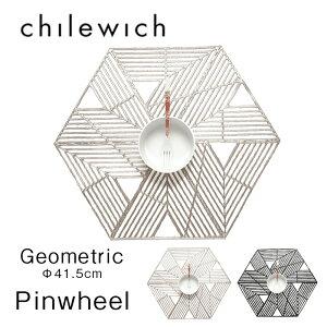 Pinwheel ピンウィール約 42.6×36.2cmchilewich チルウィッチ Geometric おうちオンライン化 エンジョイホーム インテリアコーディネート