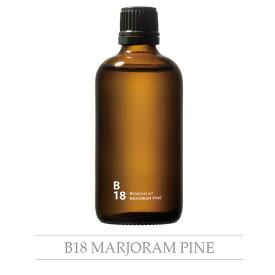 piezo aroma oilBotanical air ボタニカルエアB18 マジョラムパイン 100ml おうちオンライン化 エンジョイホーム インテリアコーディネート