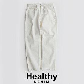 【SALE対象外】【2020SS】Healthy DENIM ヘルシーデニム Citrus Crop ホワイトシトラスクロップドデニム HL55451-wf【RCP】