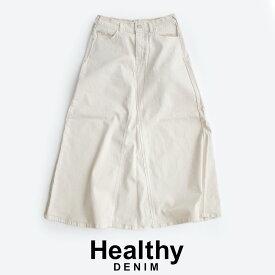 【SALE対象外】【2020SS】Healthy denim ヘルシーデニム Fig ミモレスカート HL55022-ec/HL87022-md【RCP】
