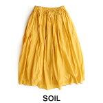 【2018SS】【送料無料】SOILソイルギャザースカートNSL18026【RCP】