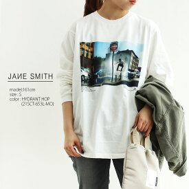 【40%★OFF】【2021SS】JANE SMITH ジェーンスミス フォトプリントTシャツ 21SCT-651L-MO/21SCT-653L-MO【RCP】25th
