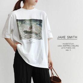 【40%★OFF】JANE SMITH ジェーンスミス フォトグラフS/SプリントTシャツ 21SCT-654L-MO/21SCT-665L-CD【RCP】25th