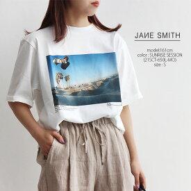 【40%★OFF】【2021SS】JANE SMITH ジェーンスミス フォトグラフS/SプリントTシャツ 21SCT-650L-MO/21SCT-652L-MO【RCP】25th