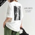 "【2021SS】JANESMITH×MMN【カラー別注】ジェーンスミス""HARLEMONRAINYDAY""ショートスリーブTシャツ21SCT-659L-CL-EW【RCP】"