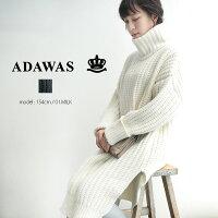 【2018AW】【送料無料】ADAWASアダワスオーバーサイズチュニックADWS-801-31【RCP】