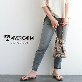 AMERICANA アメリカーナ テーパード5ポケットジーンズ AL-380 USED【RCP】
