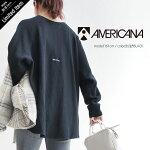 【2020AW】AMERICANA×MMN【別注アイテム】アメリカーナサーマルラグランTシャツ(仮)ASO-436GB【RCP】