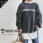 【2020AW】AMERICANA×MMN【別注アイテム】アメリカーナラフィー度詰めロゴスウェット(仮)ASO-437GB【RCP】