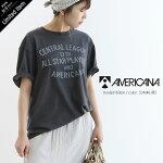 【2021SS】AMERICANA×MMN【別注アイテム】アメリカーナワイド天竺Tシャツ(フロントロゴ)AMGB-2102【RCP】
