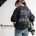 【2021AW】AMERICANA×MMN【別注アイテム】アメリカーナ バックロゴ天竺ロンT BRF-537A【RCP】