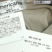 【2021SS】AMERICANA×MMN【別注アイテム】アメリカーナクラシックロゴワンピースBRF-524AGB【RCP】