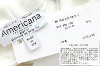 【2019AW】AMERICANA×MMN【別注アイテム】アメリカーナ両サイドジップ裏毛フード付きスウェットASO-332GB/2-1【RCP】
