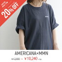J MORE【20%★OFF】【2018★SS】【送料無料】AMERICANA×MMN【別注アイテム】アメリカーナ カットソーワンピース ASO…