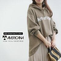 【2019AW】【送料無料】AMERICANAアメリカーナフード付サーマルプルオーバーASO-369GB【RCP】