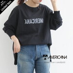 【2021SS】AMERICANA×MMN【別注アイテム】アメリカーナ反転ロゴカットソーASO-452GB【RCP】