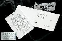 【2020SS】AMERICANA×MMN【別注アイテム】アメリカーナバック刺繍カットソーBRF-451AGB【RCP】