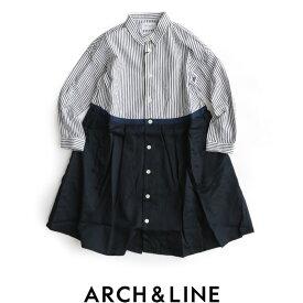 【50%★OFF】【kids】ARCH&LINE アーチ&ライン 2WAY バイカラードレス ワンピース AL712618【RCP】