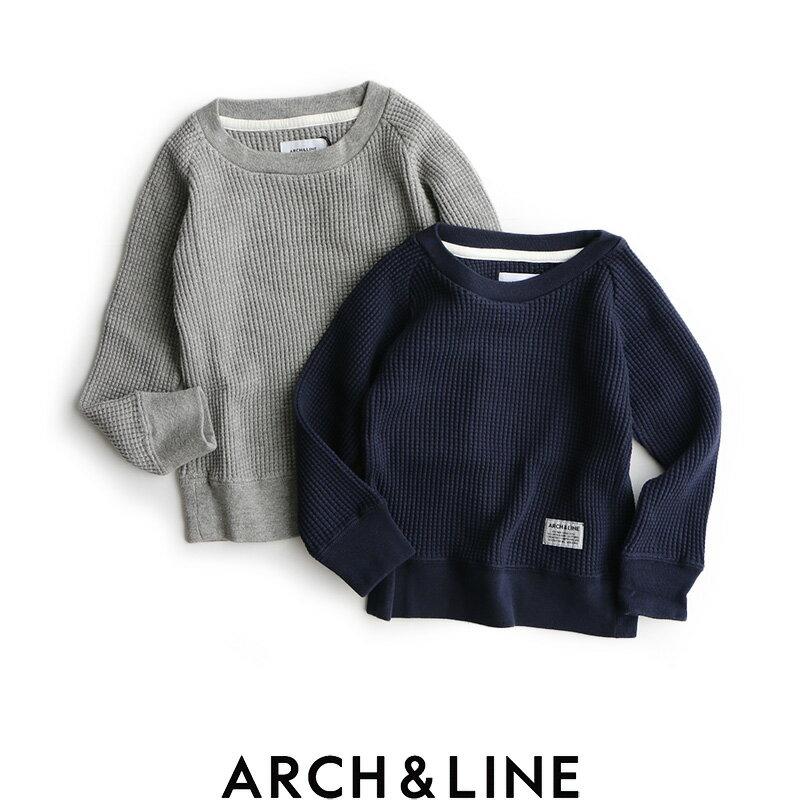 ARCH&LINE アーチアンドライン ビッグワッフルカットソー AL712320【RCP】