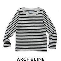 【2018★AW】【kids】ARCH&LINEアーチアンドラインボーダークルーネックロングスリーブTシャツAL812308【RCP】キッズ・トップス