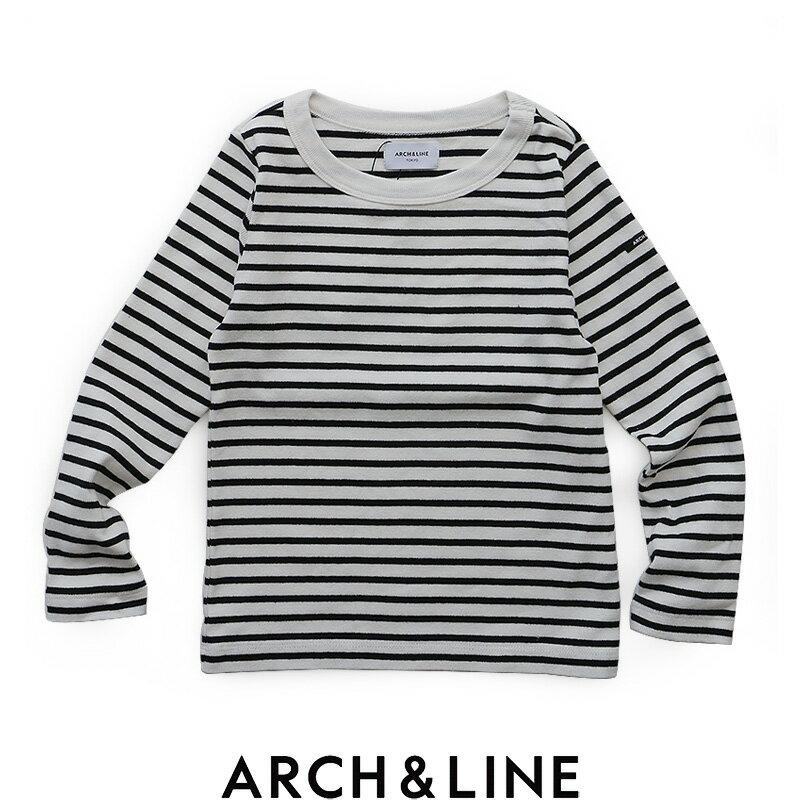 【2018AW】【kids】ARCH&LINE アーチアンドライン ボーダークルーネックロングスリーブTシャツ AL812308【RCP】キッズ・トップス