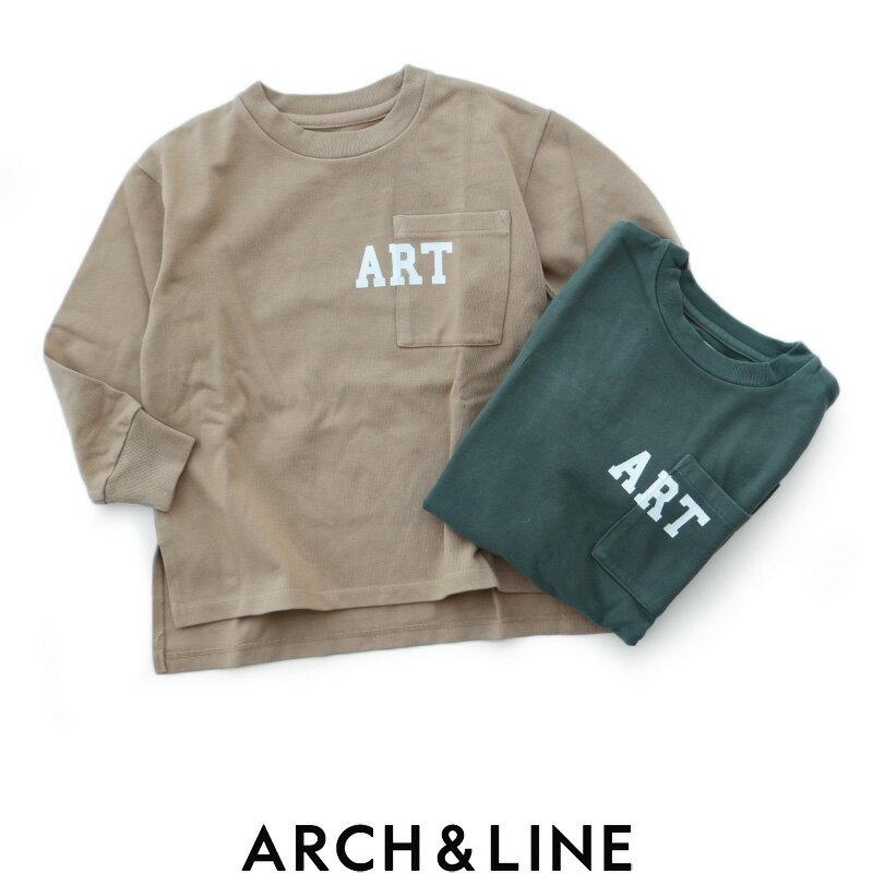 【2018AW】【kids】ARCH&LINE アーチアンドライン ビッグTシャツ AL812332【RCP】キッズ・トップス