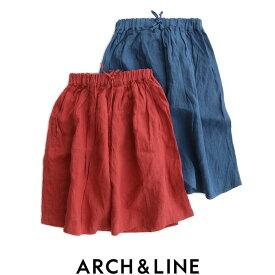 【kids】ARCH&LINE アーチアンドライン フレンチリネンスカート AL911503【RCP】
