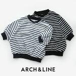 【2020SS】【kids】ARCH&LINEアーチアンドラインボーダーバルーンスリーブプルオーバーAL201338【RCP】