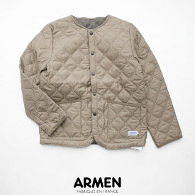 【2020AW】ARMEN アーメン ノーカラーキルティングジャケット NAM1851PP【RCP】20OCTfes