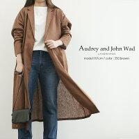 【2020SS】AudreyandJohnWadオードリーアンドジョンワッドリネンガウンスプリングコートH4200【RCP】