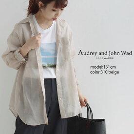 【2021SS】Audrey and john Wad オードリーアンドジョンワッド CPOシアーシャツ H6120X【RCP】