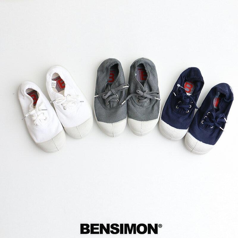 o【2017AW】【kids】BENSIMON ベンシモン キャンバススニーカー 53174-1-00113【RCP】