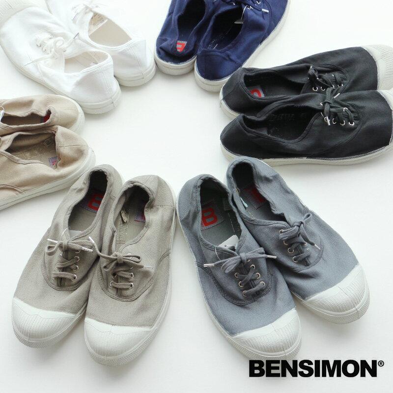 o【2017AW】BENSIMON ベンシモン キャンバススニーカー 53174-1-00111【RCP】