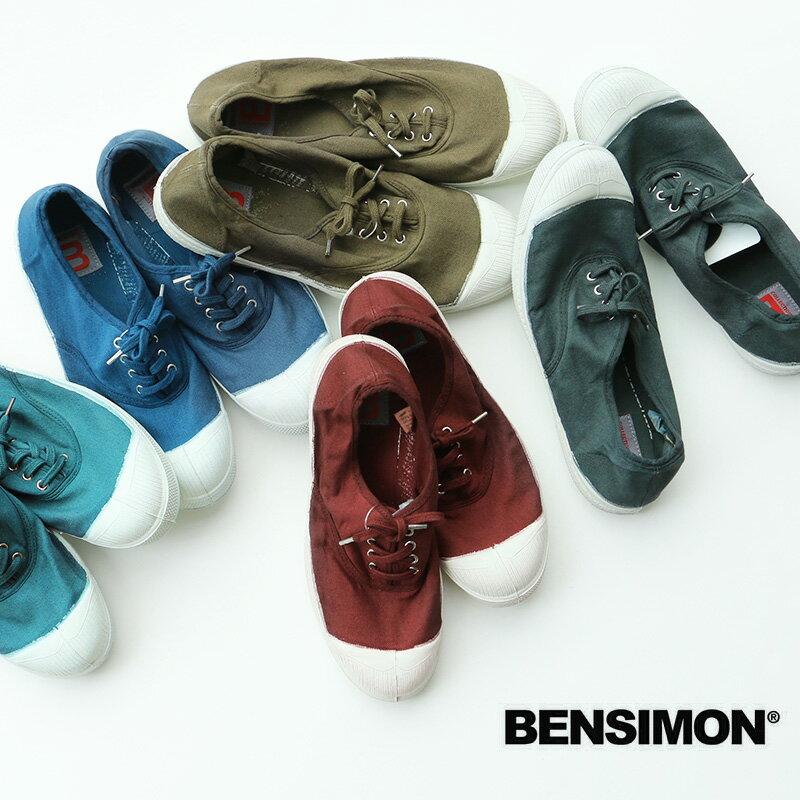 o【2017AW】BENSIMON ベンシモン キャンバススニーカー 53174-1-00211【RCP】