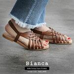 【2020SS】Bianca×MMN【別注アイテム】ビアンカメッシュサンダル1110【RCP】