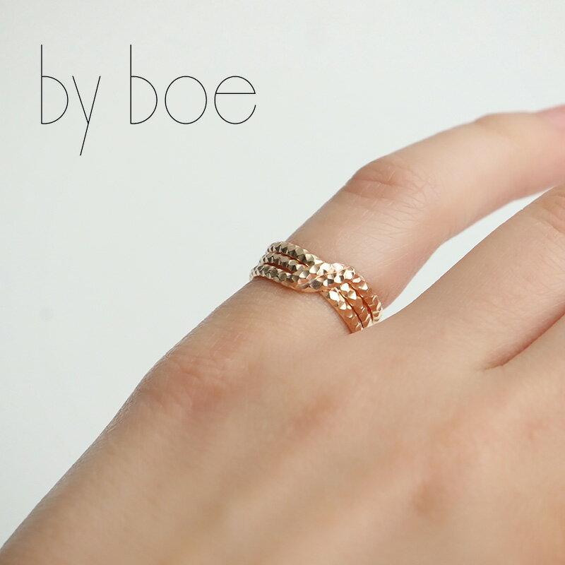 n【SALE対象外】by boe バイボー ノットスカラップリング R67 【RCP】