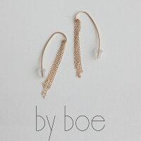 【SALE対象外】【2018AW】byboeバイボースモールサークルプレートネックレス545【RCP】