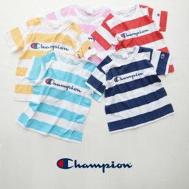 【2019SS】【kids】champion チャンピオン ボーダーTシャツ CS4964【RCP】