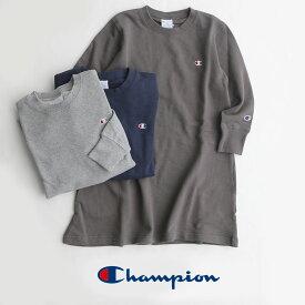 【10%★OFF】【kids】Champion チャンピオン one point sweat one piece ワンポイントスウェットワンピース CS6281【RCP】