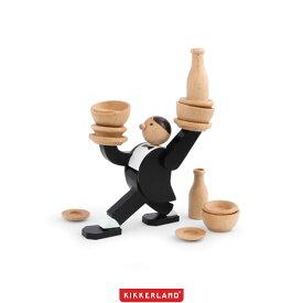【SALE対象外】【2020SS】KIKKERLAND キッカーランド Don't Tip The Waiter Stacking Game ドントティップザウェイタースタッキングゲーム 2989【RCP】日用品雑貨