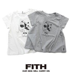 【2019SS】【Kids】【130cm/140cm】FITH フィス 天竺MinnieフレアTシャツ 3292403【RCP】