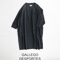 【2019AW】【送料無料】GALLEGODESPORTESギャレゴ・デスポートロングスリーブドレス9011(S100navy)【RCP】