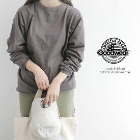 【SALE対象外】Goodwear グッドウェア クルーネックリブ付き長袖カットソー NGW9951【RCP】stayhome01
