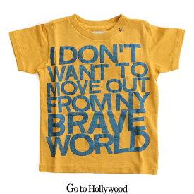 【kids】Go To Hollywood ゴートゥーハリウッド 天竺NEW WORLD TEE 1282408【RCP】遠足・アウトドア